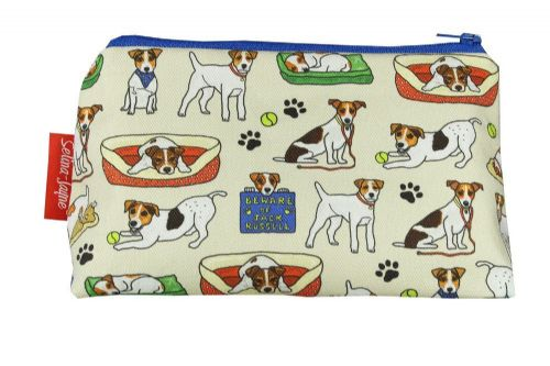 Selina-Jayne Jack Russell Limited Edition Designer Cosmetic Bag